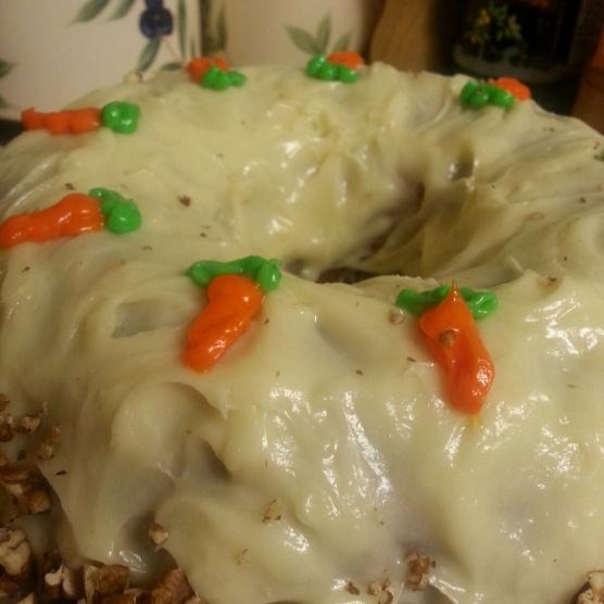 Bundt Carrot Cake